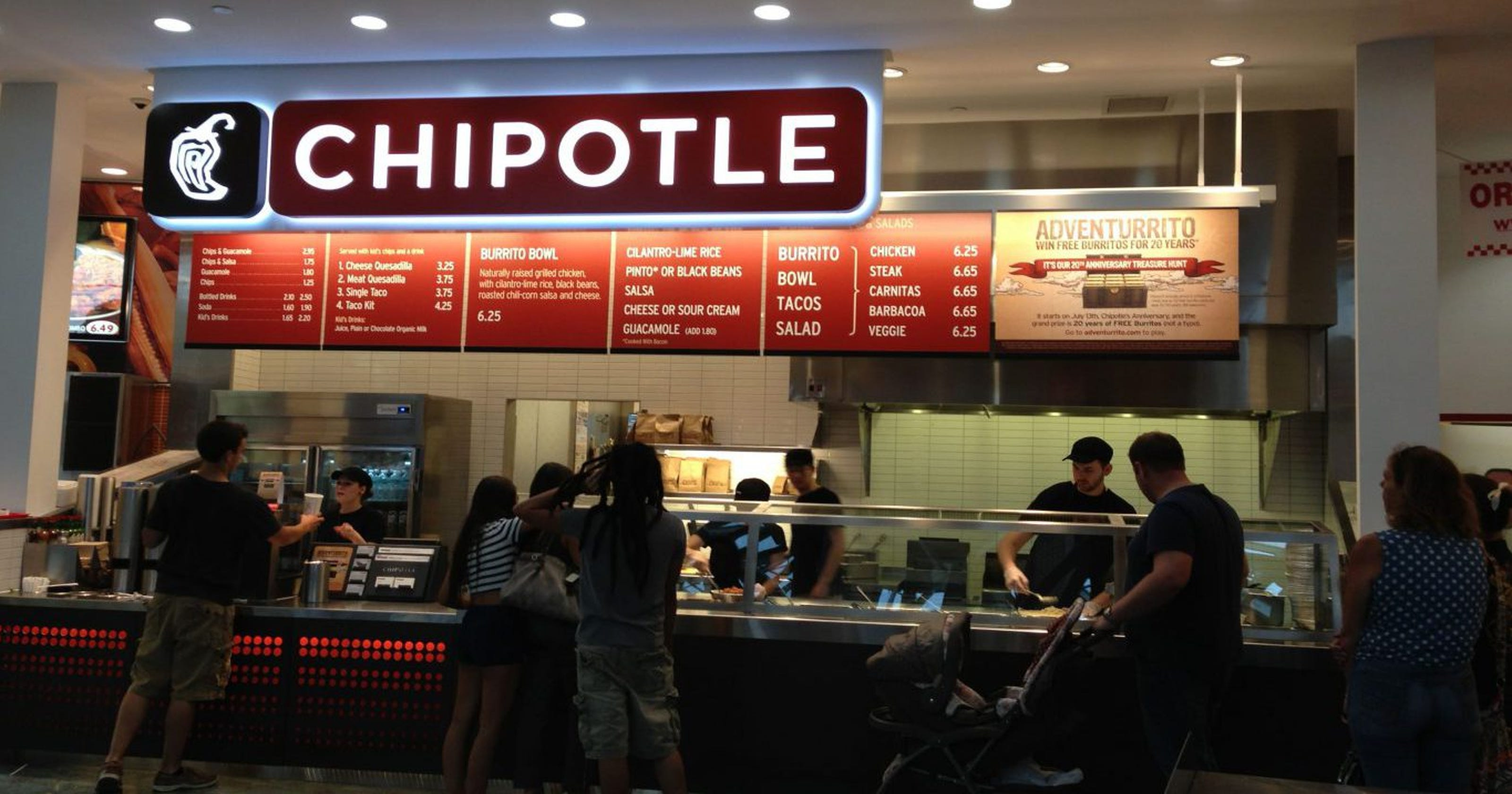 Chipotle To Retrain All Workers On Food Safety After Ohio Episode