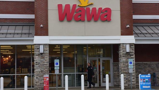 Wawa convenience store in Garfield