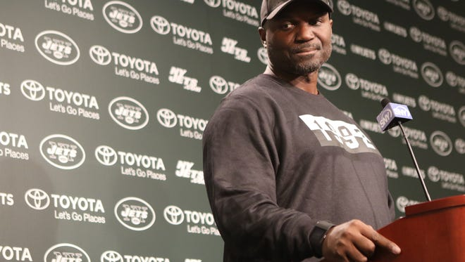 Jets coach Todd Bowles is not entertained by the Brandon Marshall/Sheldon Richardson feud.