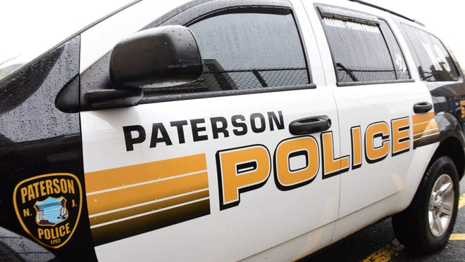 Paterson Police Department vehicle.