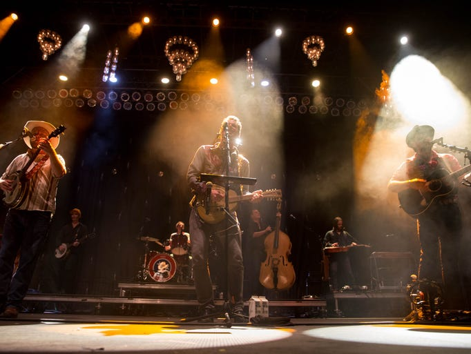 Old Crow Medicine Show performs Saturday, Aug. 1, 2015,