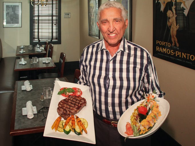 Danny Murphy, owner of Danny's Steak House in Red Bank,