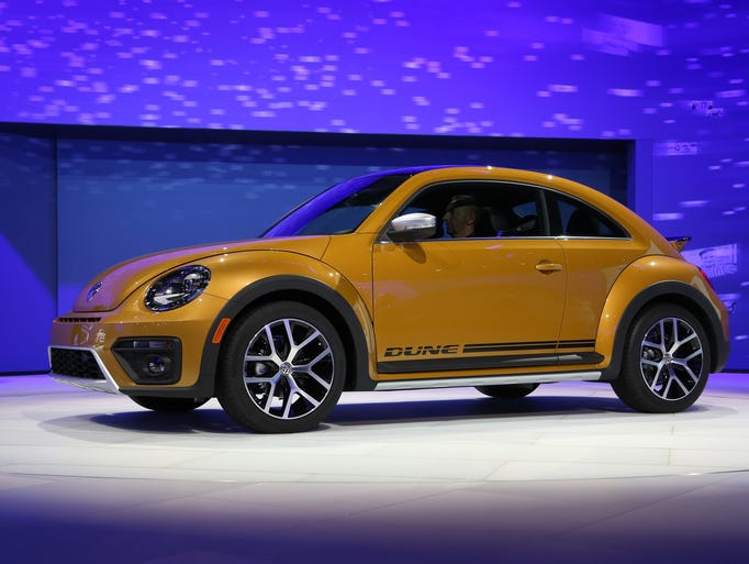 New Volkswagen39s Dune Is Presented At The 2015 Los Angeles