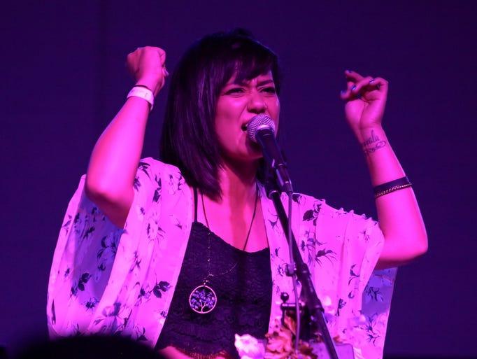 Lianna Vanicelli, of the Detroit-based electro-pop