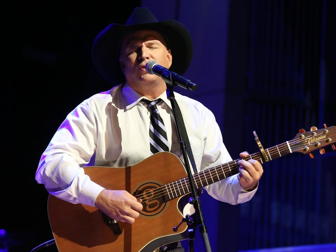 Garth Brooks performs at The Country Music Hall of