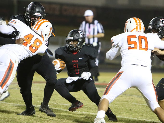 Hillcrest hosted Mauldin High Friday October 27 for