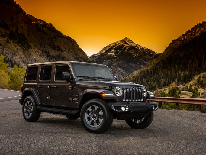 The 2018 Jeep Wrangler Sahara.
