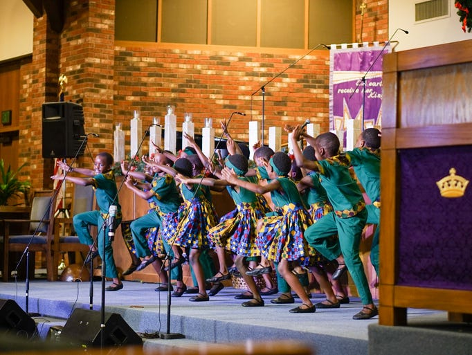 Grammy nominated African Children's Choir perform a