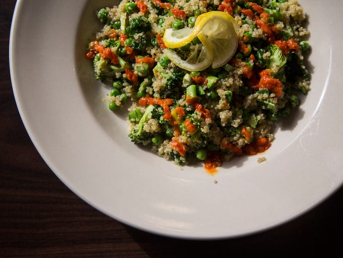 The Green Quinoa Bowl at La Mie Elevate on Wednesday,