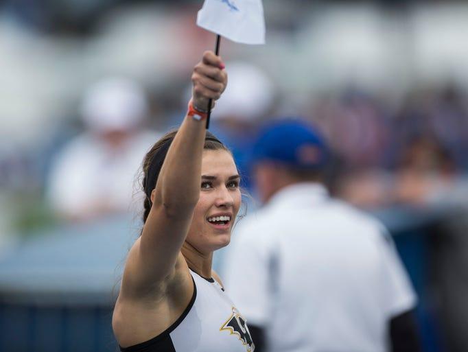 Southeast Polk's Sydney Milani wins the Girls' 800