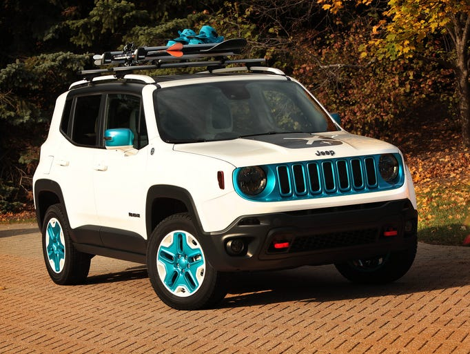 Chrysler has prepared a fleet of Mopar-modified vehicles