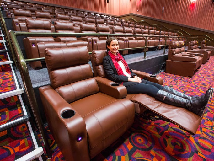 29 Photos New Altoona Theater Features All Leather Reclining Seats