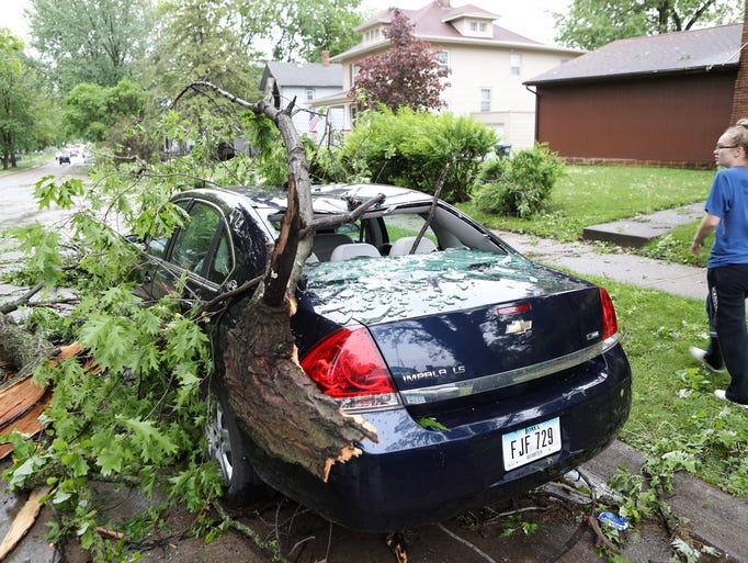 Photos Storm Damage In Perry Fort Dodge