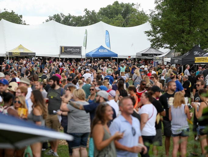 Michigan brewers guild summer festival 2017 for Michigan craft beer festival