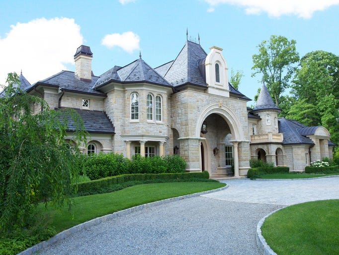 Video tour 14 5 million mansion is fabulously french for Chateau homes