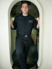 Airman Gary Harding is an aviation electronics technician