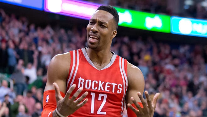 Dwight Howard will be a free agent this summer.