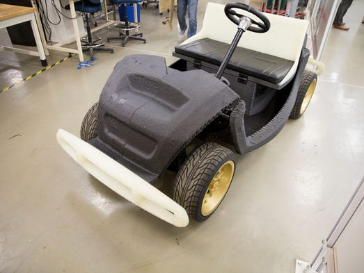 Local Motors debuted the world's first 3D printed car