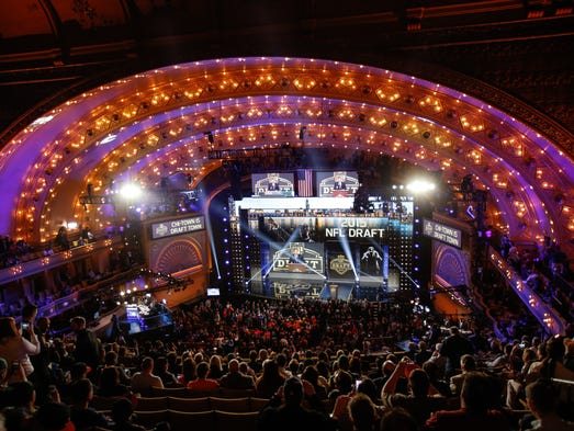 The NFL draft returns to Chicago April 28-30, but it's