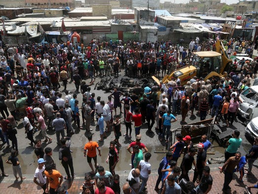 a scene in crowded market An airstrike by a saudi-led military coalition has killed 21 people at a market in yemen's northern saadah province, according to a reuters witness at the scene the attack that struck the sahar district of the vast territory, on the border with saudi arabia, reduced the site to a heap of twisted sheet metal.
