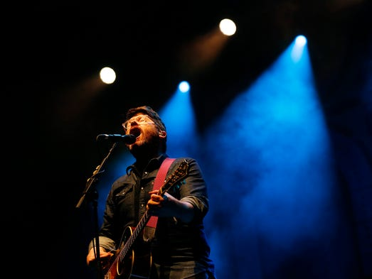 The Decemberists'  Colin Meloy performs Saturday, July