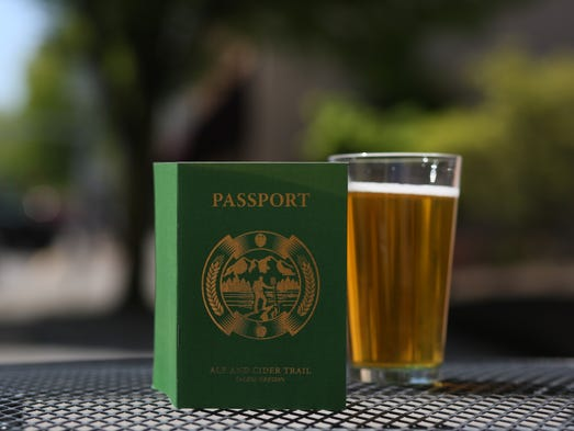 The Ale and Cider Trail passport guides participants