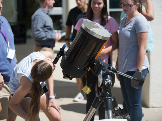 Eclipse 2017: Fort Collins, Colorado turn out for total solar eclipse