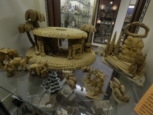 Check out nativity scenes this weekend