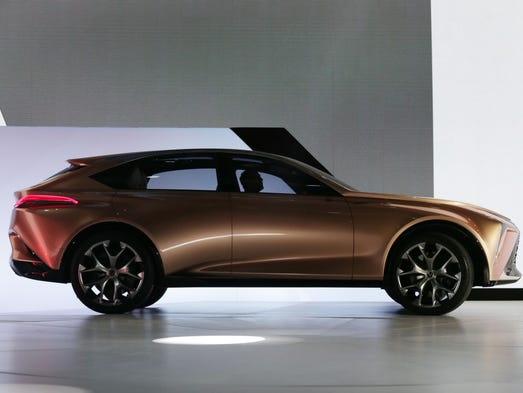 The Lexus Lf 1 Limitless Concept Crossover Is Introduced