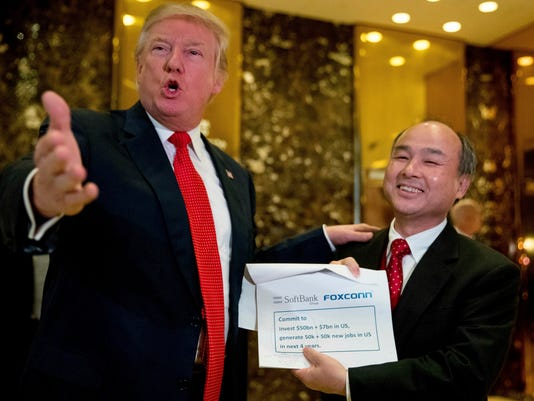 Donald Trump, Masayoshi Son