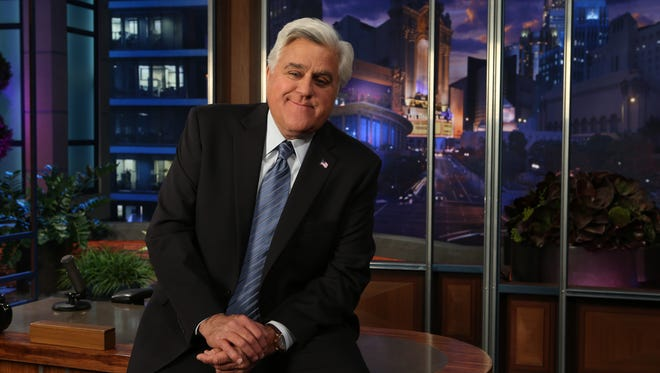 Jay Leno leaves NBC's 'Tonight Show' (for the second time) Thursday.