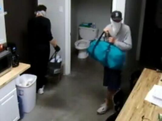 Surveillance of burglars