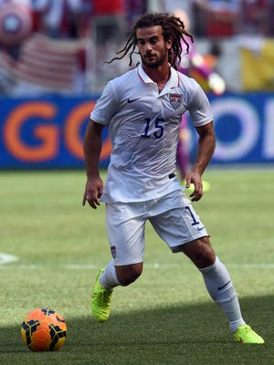 Kyle Beckerman of the US controls the ball during the friendly match between Turkey and the United States. The Crofton, Md., native's parents retired to live in Ocean Pines five years ago.