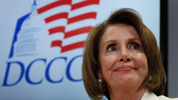 House Minority Leader Nancy Pelosi, D-Calif., during