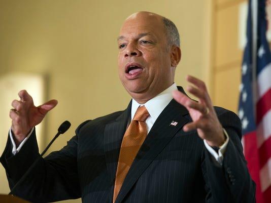 DHS Secretary Jeh Johnson / AP photo dated Dec. 18, 2014