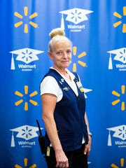 Margaret Colitsas, claims supervisor, stands at the Wal-Mart Academy at the Wal-Mart supercenter on Juliet Boulevard in North Naples on Thursday, April 20, 2017. The grand opening for the academy was April 6.
