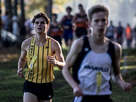 Watkins hosted the Licking County League cross country meet Saturday.