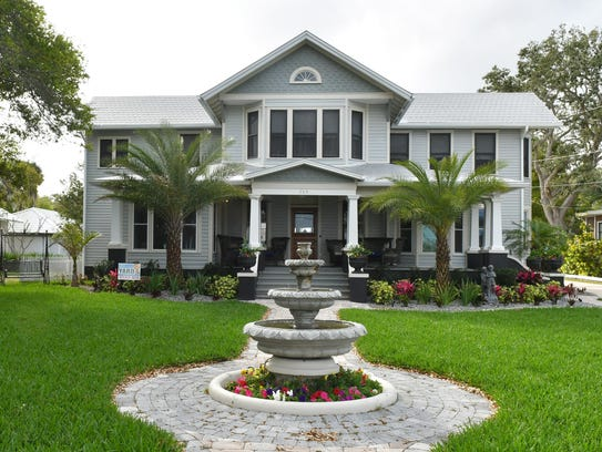 709 Rockledge Drive, located along the Indian River,