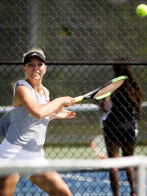 Mason No. 1 singles standout Olivia Hanover finished as runner-up at this weekend's Division 2 state tournament.