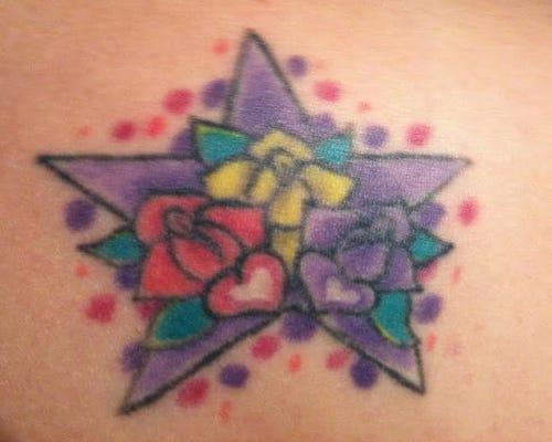 Laura Kaye's tattoo. (Photo: Laura Kaye)