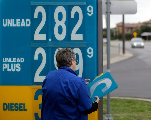 Why do gas prices go up overnight, but take much l...