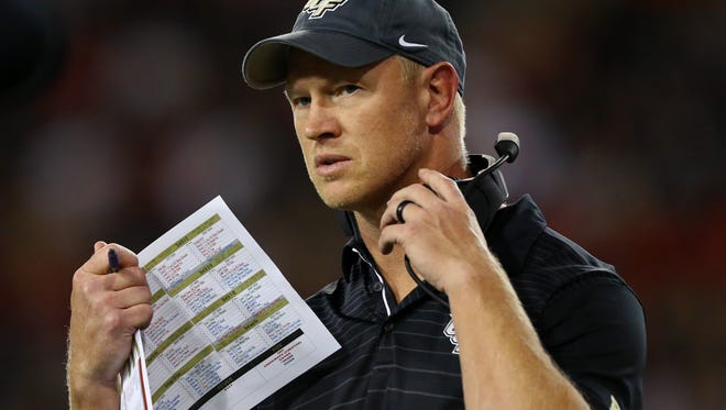 University of Central Florida head coach Scott Frost has turned the program around in less than two seasons.