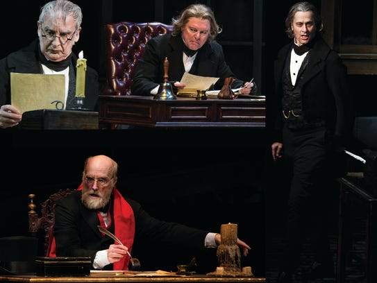 Four actors have played Ebenezer Scrooge in the Clarence