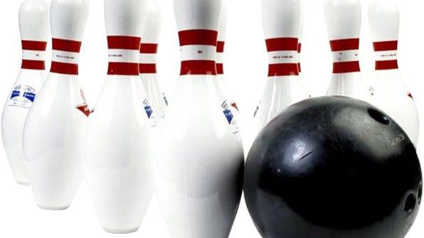 bowling pins and ball 2