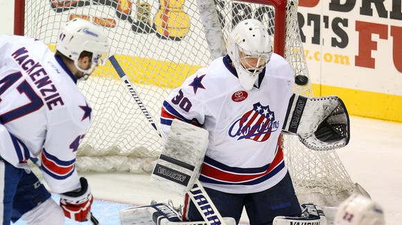 Matt Hackett has a 4-1 record over his past five starts for the Amerks.