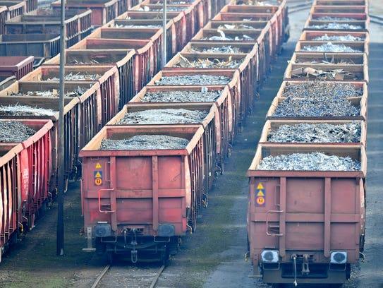 Trump impuso un arancel de 25% a las importaciones de acero y de 10% al aluminio.