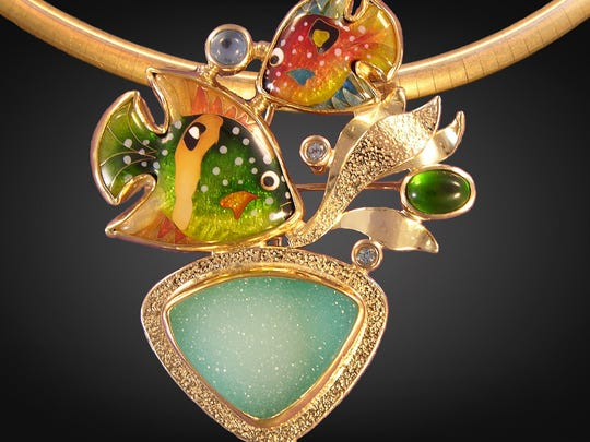 Jewelry will be on display at the Bonita Springs Art Festival.