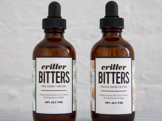 Critter Bitters bottles look hipster chic.
