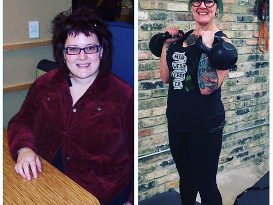 Karen Gasparick left her sedentary job and is now pursuing a career in fitness coaching.