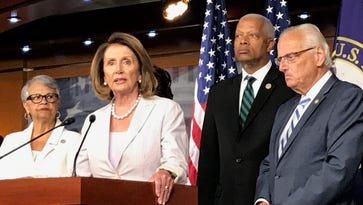House Democrats move to force Republican votes to defend Trump